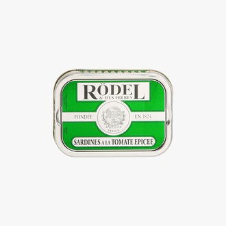 Sardines in spicy tomato sauce Rödel