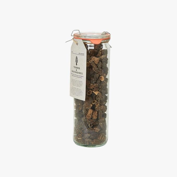 Morilles spéciales séchées Morchella esculenta Terres et Sauvagines
