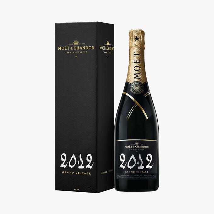 Champagne Moët & Chandon Grand Vintage 2012 en coffret Moët & Chandon