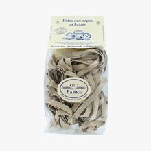 Cep and porcini mushroom parpadelle Pâtes Fabre