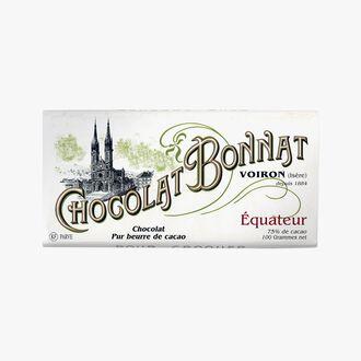 Chocolat Equateur Bonnat
