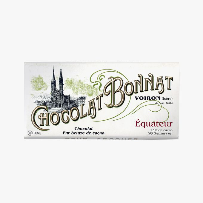 Équateur chocolate Bonnat