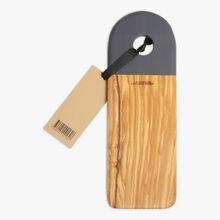 Camargue olive wood chopping board, anthracite  La Grande Épicerie de Paris