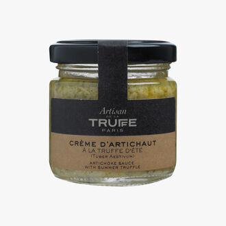 Crème d'artichaut à la truffe d'été Artisan de la truffe