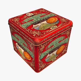 Large shortbread gift box La mère Poulard