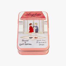 Iron box of mini Giandujas Angelina