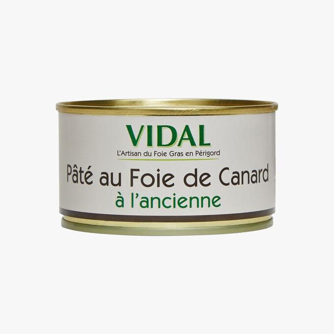 Pâté au foie de canard à l'ancienne Vidal