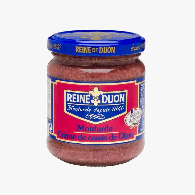 Dijon blackcurrant cream mustard Reine de Dijon