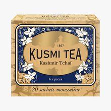 Kashmir Tchai, box of 20 teabags  Kusmi Tea