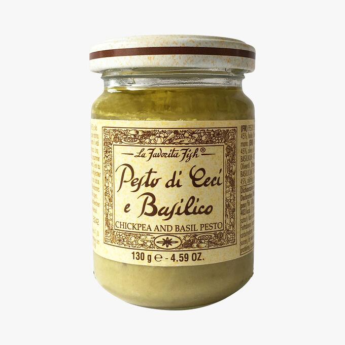 Chickpea and basil pesto La Favorita