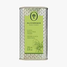 Olive & Basilic frais pressés Oliviers & Co