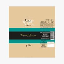 Tablette Chocolat Cuba 75% Pralus