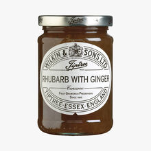 Confiture extra de rhubarbe et gingembre Wilkin & Sons