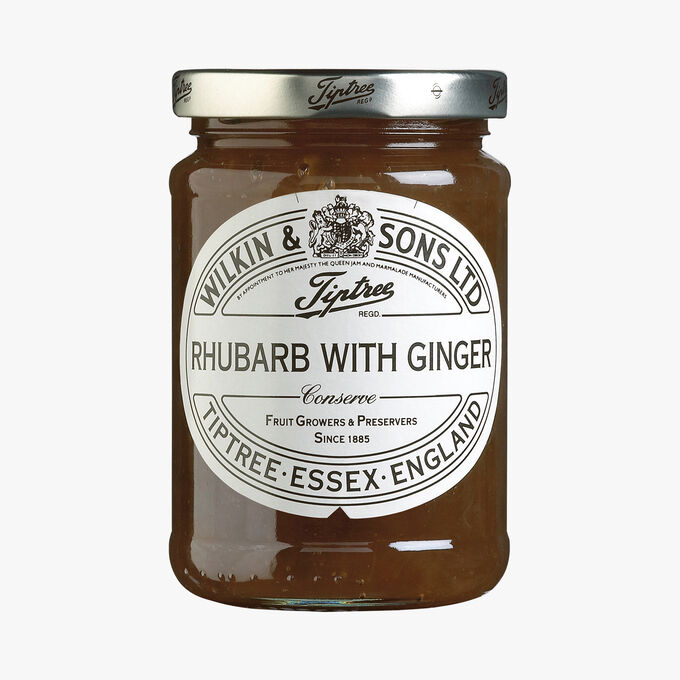 Rhubarb and ginger extra jam Wilkin & Sons