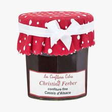 Confiture de cassis d'Alsace Christine Ferber
