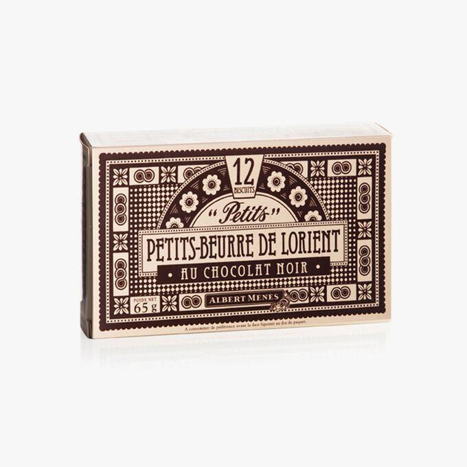 Petits-Beurre de Lorient au Chocolat Noir Albert Ménès