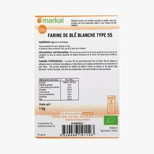 Farine de blé blanche type 55 Markal