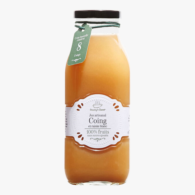 Jus de coing et raisin blanc Granny's secret