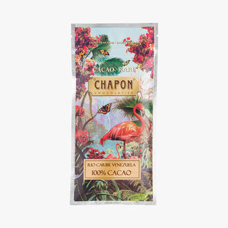 Rio Caribe Venezuela dark chocolate bar 100 %  Chapon