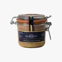 Foie gras d'oie entier du Sud-Ouest Maison Dubernet