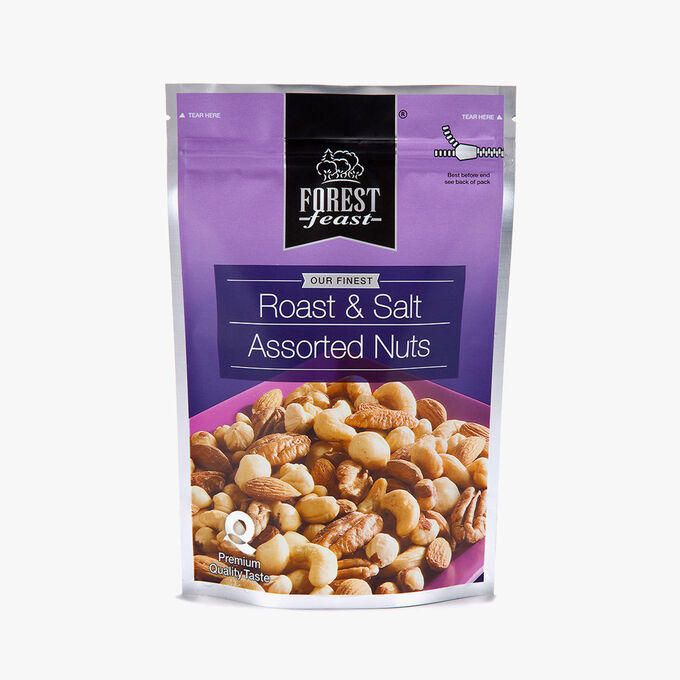 Toasted and salted walnuts Forest Feast