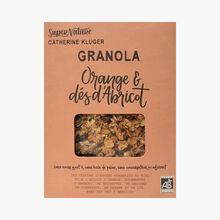 Orange and apricot granola SuperNature Catherine Kluger