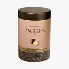 Perles craquantes enrobées de chocolat au lait Angelina