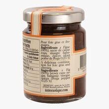Condiment à la figue et au poivre de Penja Terre Exotique