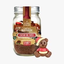 Cacao de Noël, préparation pour chocolat chaud Le Comptoir de Mathilde