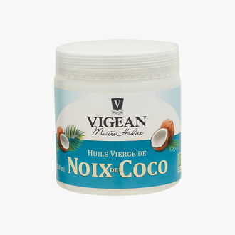 Organic virgin coconut oil Huilerie Vigean