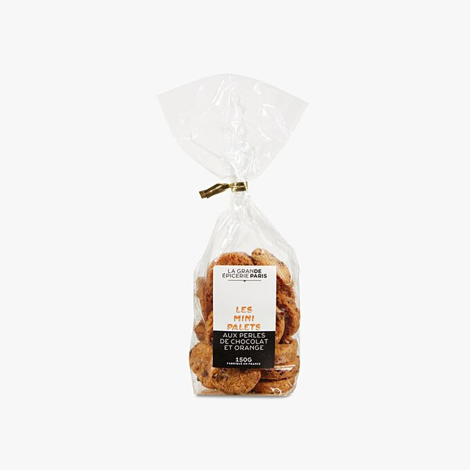 Mini palets aux perles de chocolat et orange La Grande Épicerie de Paris