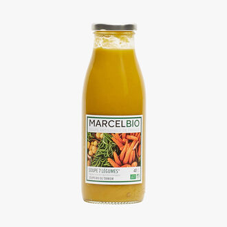 Seven vegetable soup Marcel Bio