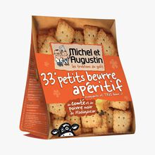 Butter aperitif biscuits with Comté cheese and Madagascan black pepper Michel et Augustin