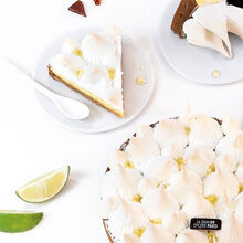 Lemon meringue pie for 6 people null