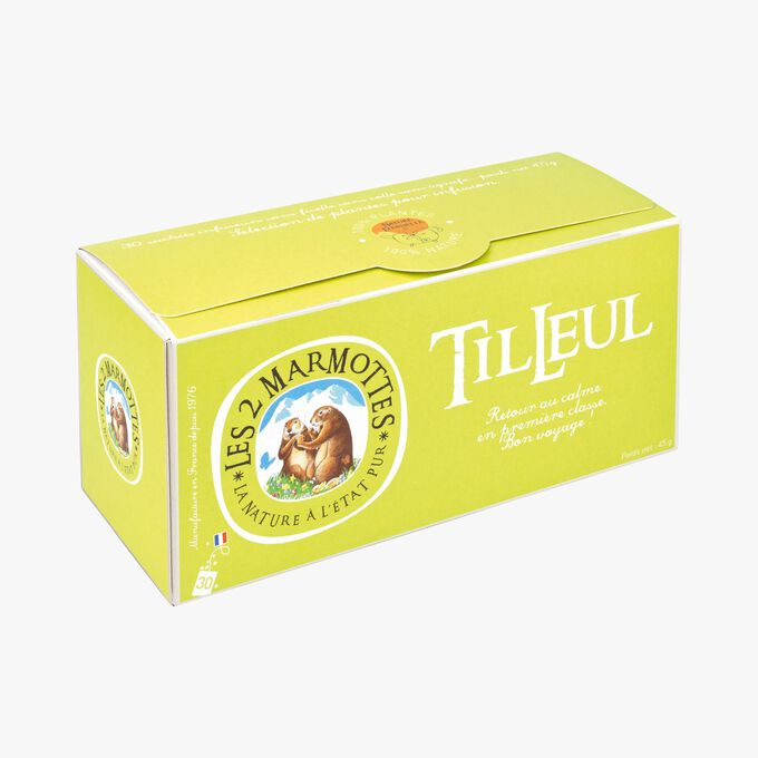L'infusion tilleul Les 2 Marmottes