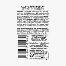 Palets au chocolat La Grande Épicerie de Paris