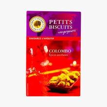 Colombo aperitif biscuits Biscuiterie de Provence