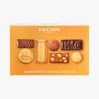 Assortment of 52 fine biscuits Fauchon