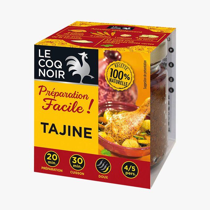 Préparation facile tajine Le Coq Noir