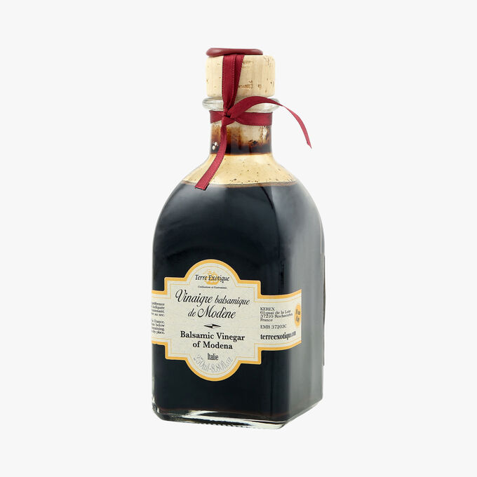 Ten-year-old IGP Modena Balsamic vinegar Terre Exotique
