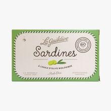 Sardines à l'huile d'olive Biologique La Guildive