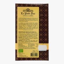 Chocolat noir 70 % Madagascar Le Petit Duc