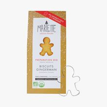 Organic mix for gingerbread men biscuits with cutter Marlette