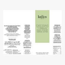 Gressins - 7 céréales & huile d'olive vierge extra Kalios