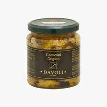 Carciofini Grigliati - grilled artichokes Davoli