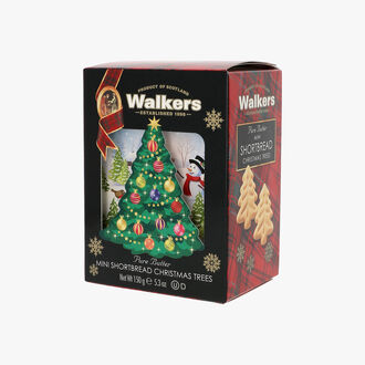 Pure butter shortbread Christmas trees  , , hi-res