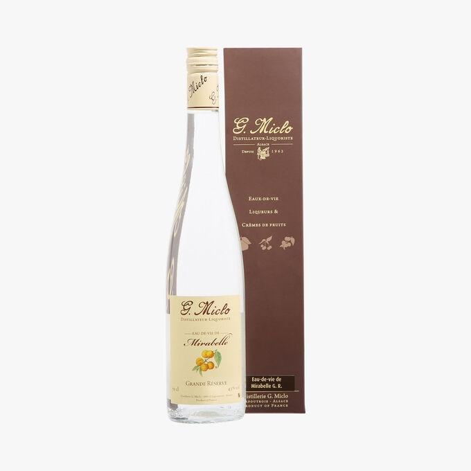 Eau-de-vie de Mirabelle Grande Réserve, Distillerie Miclo G.Miclo