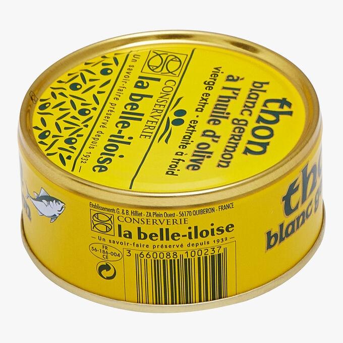 Albacore tuna in extra virgin olive oil Conserverie la Belle-Iloise