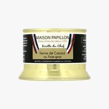 Terrine de canard au foie gras Maison Papillon