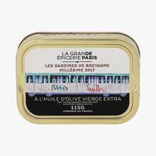 Brittany sardines 2017, with extra virgin olive oil La Grande Épicerie de Paris